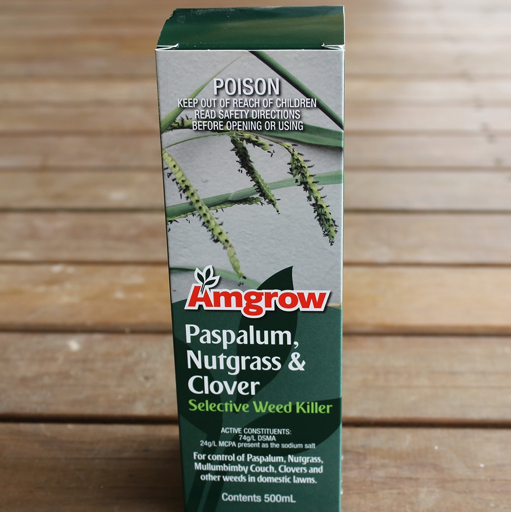Paspalum, Nutgrass & Clover Selective Weed Killer