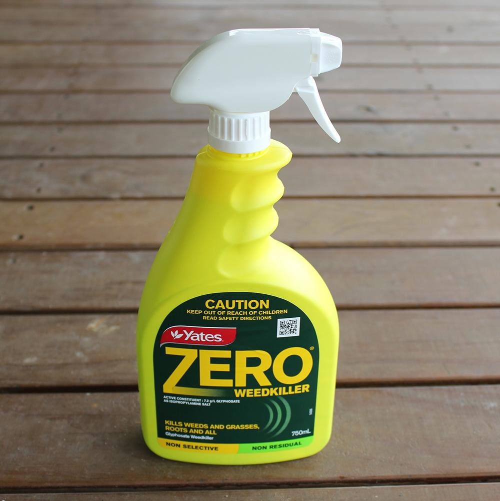Yates Zero Glyphosate Weed Spray