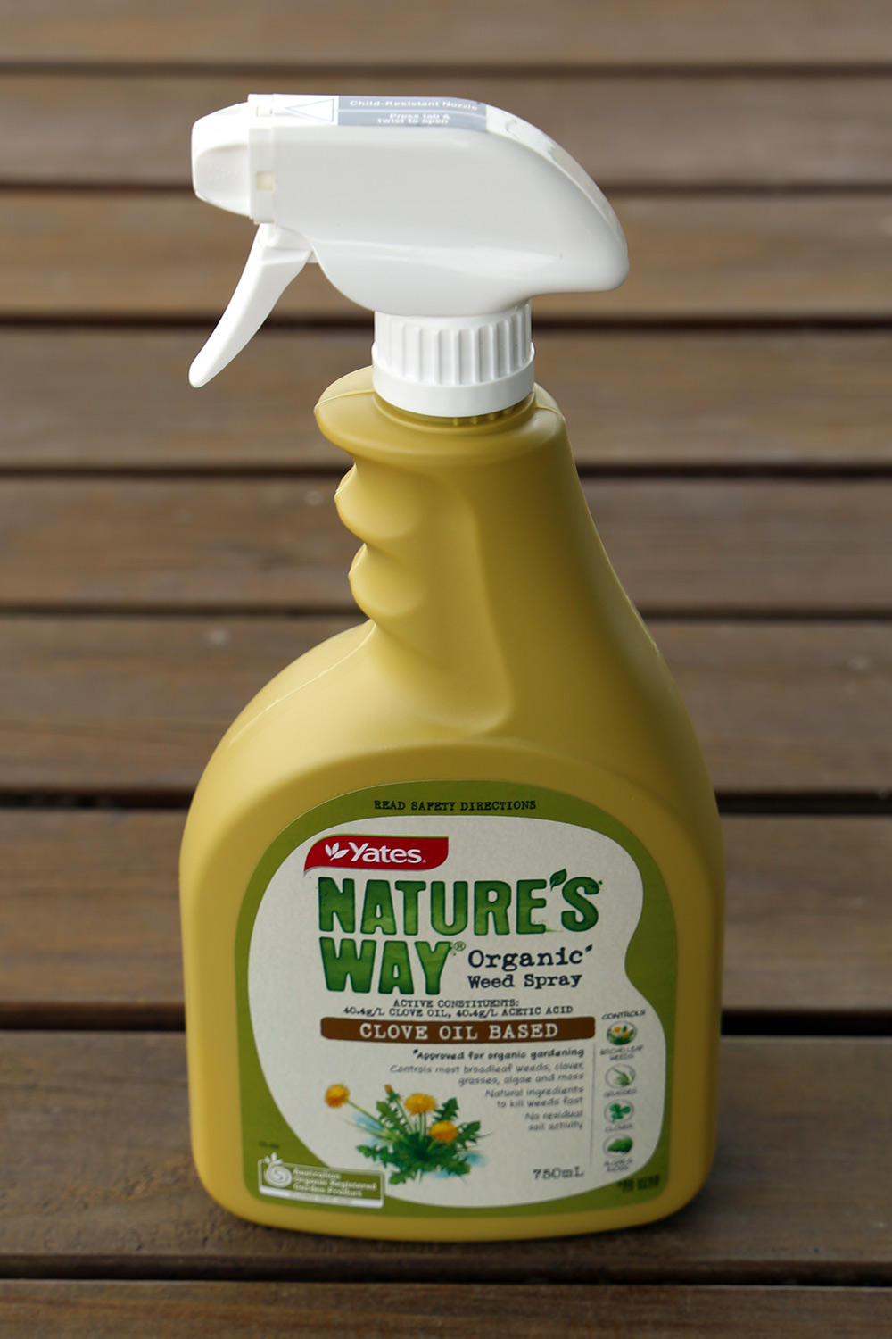 Yates Nature's Way Organic Weed Spray 750ml