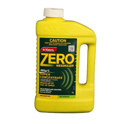 Yates Zero Glyphosate 490 Concentrate