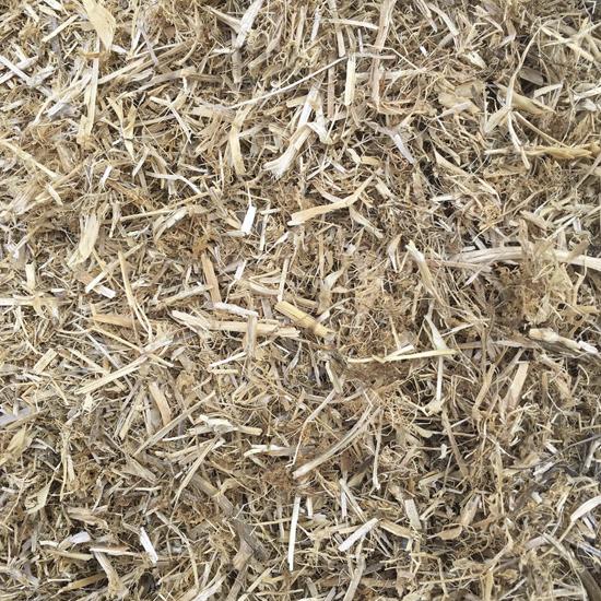 Pea Straw Mulch